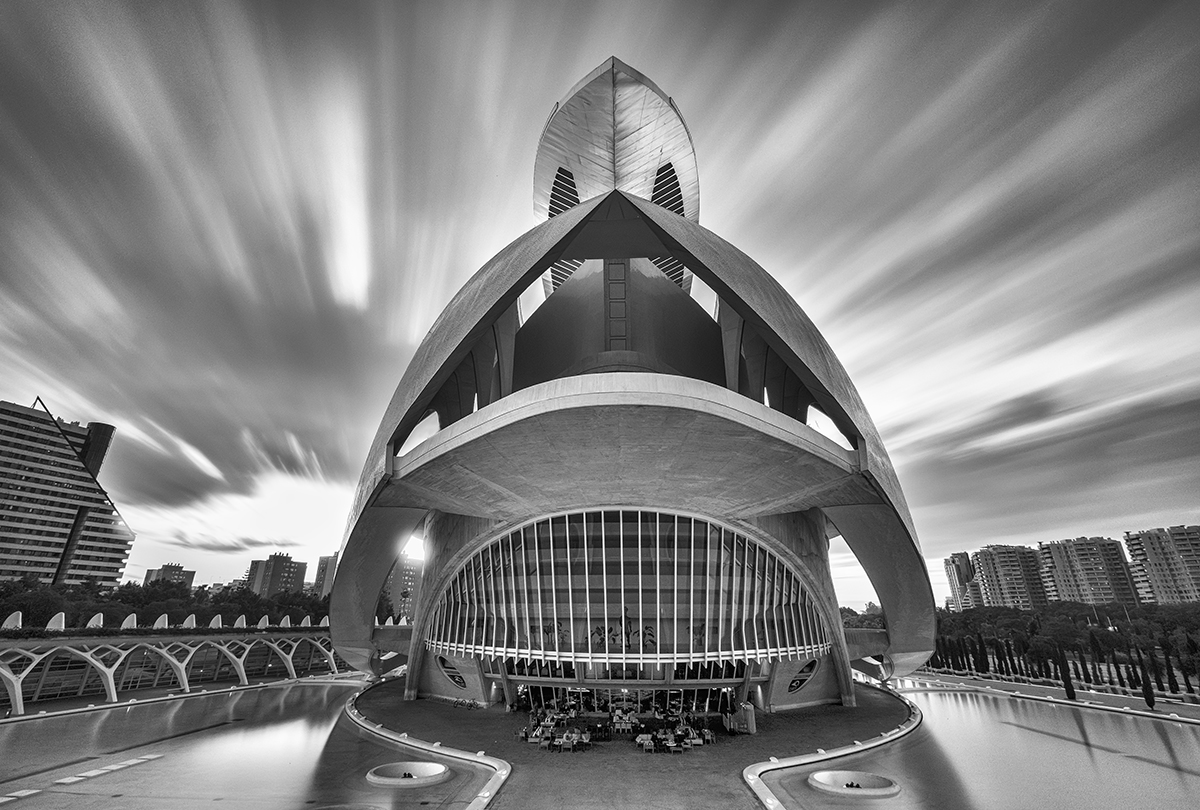 CITY OF ARTS AND SCIENCES (VALENCIA)   Rear of Opera House