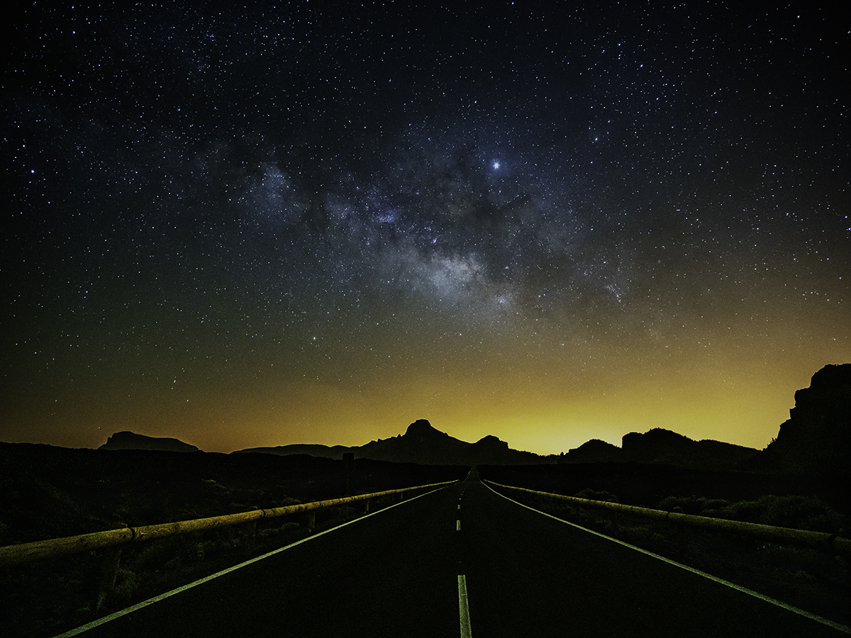 Milky Way at Tenerife