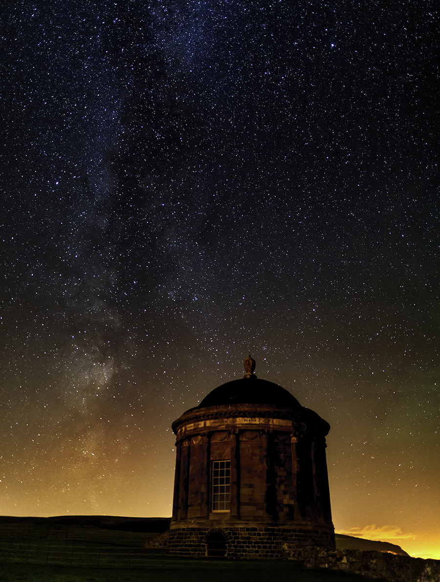 Milky Way at Mussenden Temple
