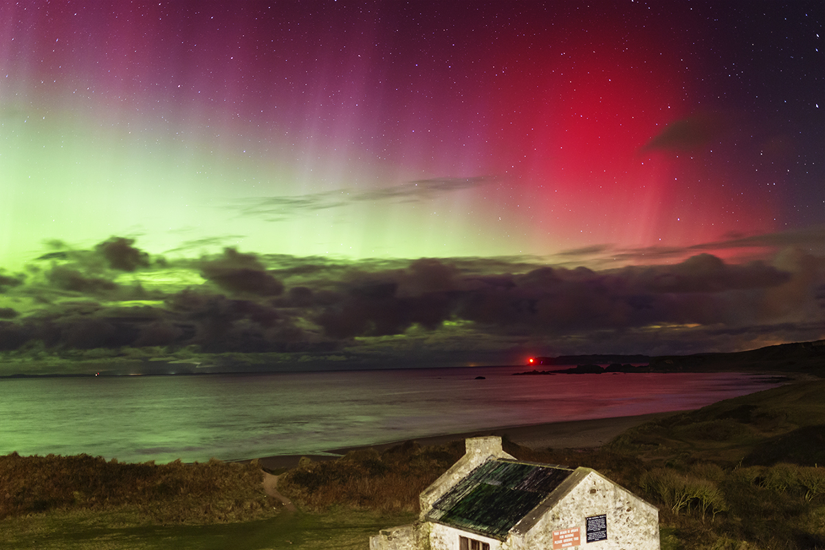 Aurora at White Park Bay
